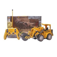 engineering vehicle small baby children kid truck rc excavator led remote control car toys with electric