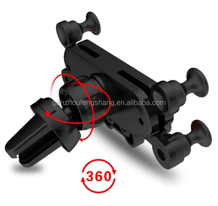 Wholesale Universal 360 Rotation Adjustable Third Generation Gravity Air Vent Auto Mount Mobile Phone Holder for Car