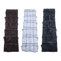 24 Grid Non-woven Bag Door Storage