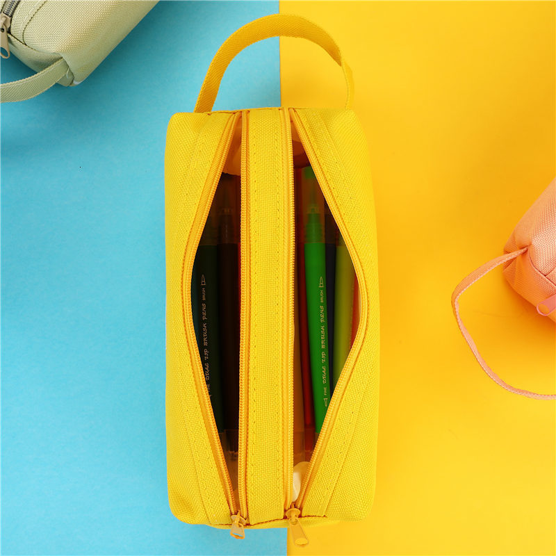 product-GF bags-New arrival fashion Cute Pencil Case Marble Pattern Pen Bag Pencil Box Pencil Case S-1