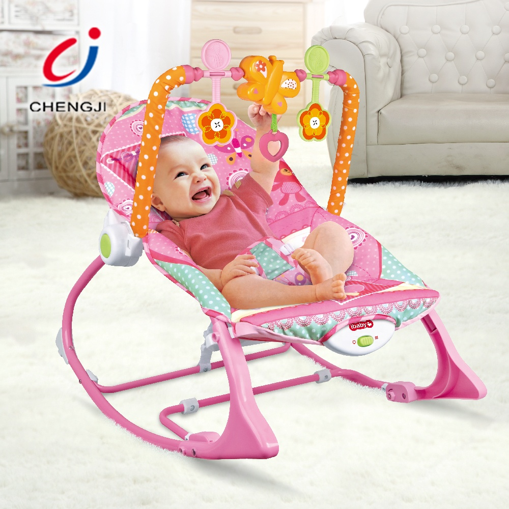 Safety Electric Rocking Chair Baby Bouncer Vibrating With Music