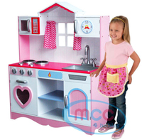 New design wooden DIY kids cooking pretend play kitchen cabinet educational toy sets for girls and boys