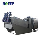 husbandry volute type multi-plate screw filter press industrial sludge dehydrator equipment for waste water solutions