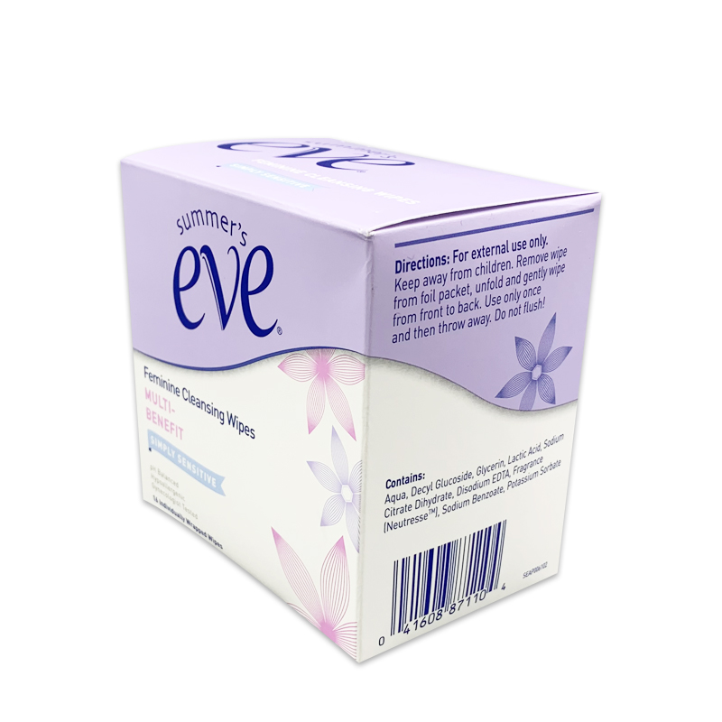 Customized Cleaning Adult Body Natural Healthful Vaginal Care Feminine Hygiene Wipes