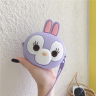 Cute Candy Color Women Wallet Silicone Rabbit Style Money Change Bag in Store Ladies Coin Purse
