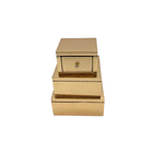 Antique Box Wooden Decorative Box Wholesale Vintage Antique Small Wooden Amenities Boxes Accessories Custom Luxury Wood Perfume Box Decorated Craft Small Mdf Box