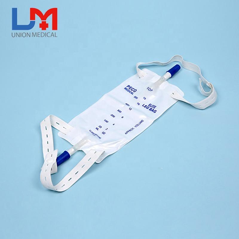 Customized cheapest urinary drainage leg bag
