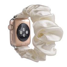 Эластичный ремешок для apple watch, 5, 44 мм, 40 мм, женский браслет для наручных часов, для серии 5, 4, 3, для iwatch, 38 мм, 42 мм, 38(Китай)