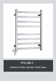 TARRIOU Square Bar Heated Towel Rail Electric