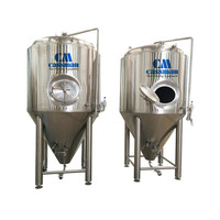 Professional stainless steel 500l beer brewing kit for the pub restaurant