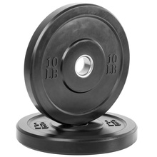 Rizhao Fitness Gym Workout <span class=keywords><strong>Barbell</strong></span> Gewichtheffen Lbs Kg Custom Black Rubber Bumper <span class=keywords><strong>Platen</strong></span>