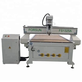 FORSUN air cooled spindle 4 axis 3d cnc wood carving machine for wood door