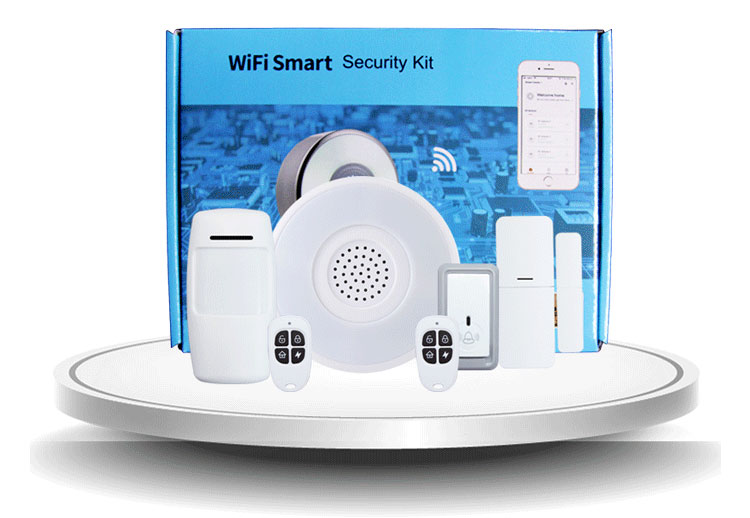 cheap wireless wifi home security system intruder house best burglar alarm system