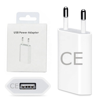 factory CE 5W USB fast Charger Power Adapter EU/UK/US/AU mobile phone portable Wall USB Charger for iphone 456789Splus1112pro