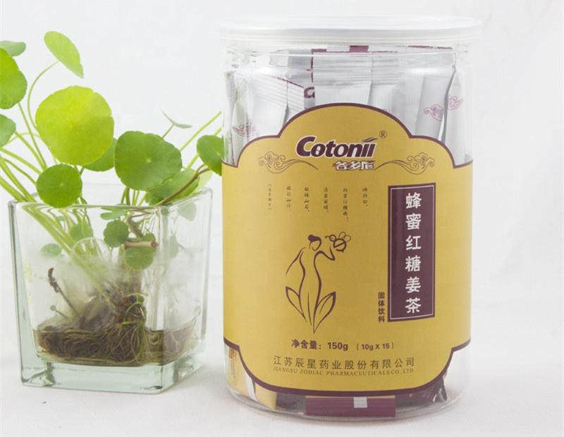 Ginger Tea Health Benefits Honey and Ginger Dark Muscovado Sugar OEM Packing - 4uTea | 4uTea.com