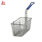 High Quality Fat Fryer Stainless Steel Deep Fry Serving Basket For French Fries