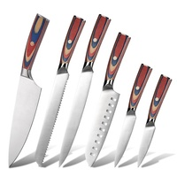 Asiakey Stainless Steel Kitchen Chef Knife
