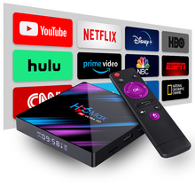 H96 MAX RK3318 Smart TV Box Android 9,0 4 ГБ 32 ГБ 64 Гб медиаплеер 4K Google Voice Assistant Netflix Youtube 2GB16GB телеприставка