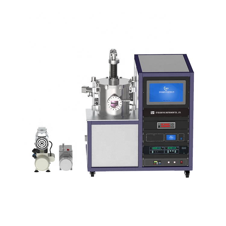 Lab Desktop 1200C High Temperature rotary Sliding tube furnace with Rotary vacuum pump