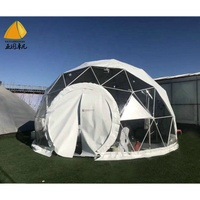 Outdoor multi use event trade show tent traluxury hotel clear dome tent