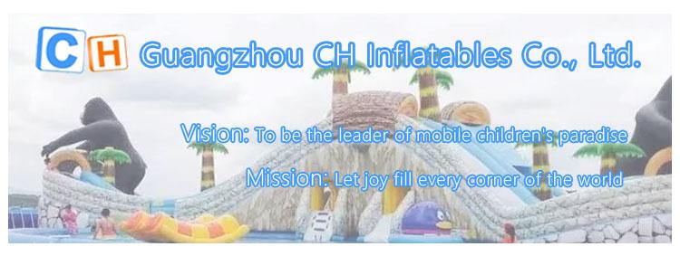 Parque de diversões inflável gigante de alta qualidade parque temático personalizado