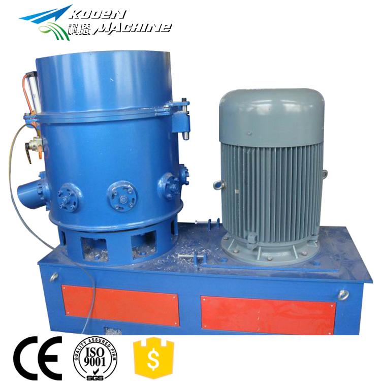 PP PE film agglomerator recycle plastic granules making machine price