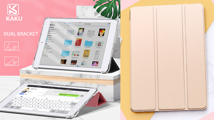 Auto wake up sleep corner shockproof clear tpu cover tablet case for iPad 9.7 for ipad 10.2 pro 11 12.9