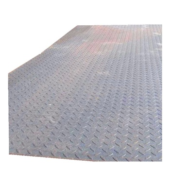 Manufacturer Supply High Quality Q235B Hot Rolled Carbon Steel Sheet/Checkered Steel Plate