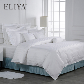 ELIYA Linen Professional Hotel Supplies Hotel Linen Egyptian Cotton Bedding 100% Cotton Bed Sheets