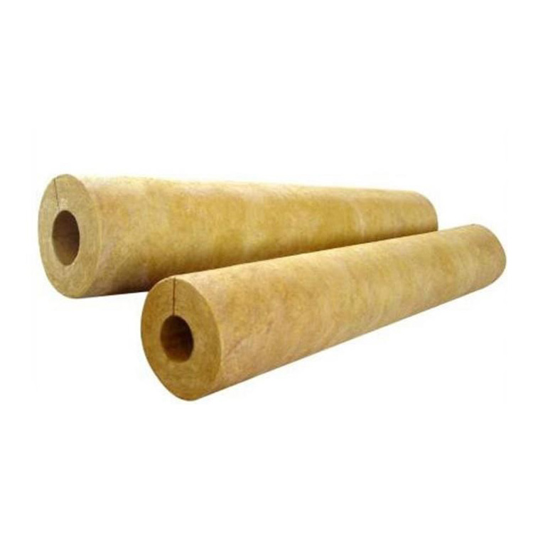 อายุการใช้งาน rockwool ท่อส่วนฉนวนกันความร้อน rock wool ท่อ