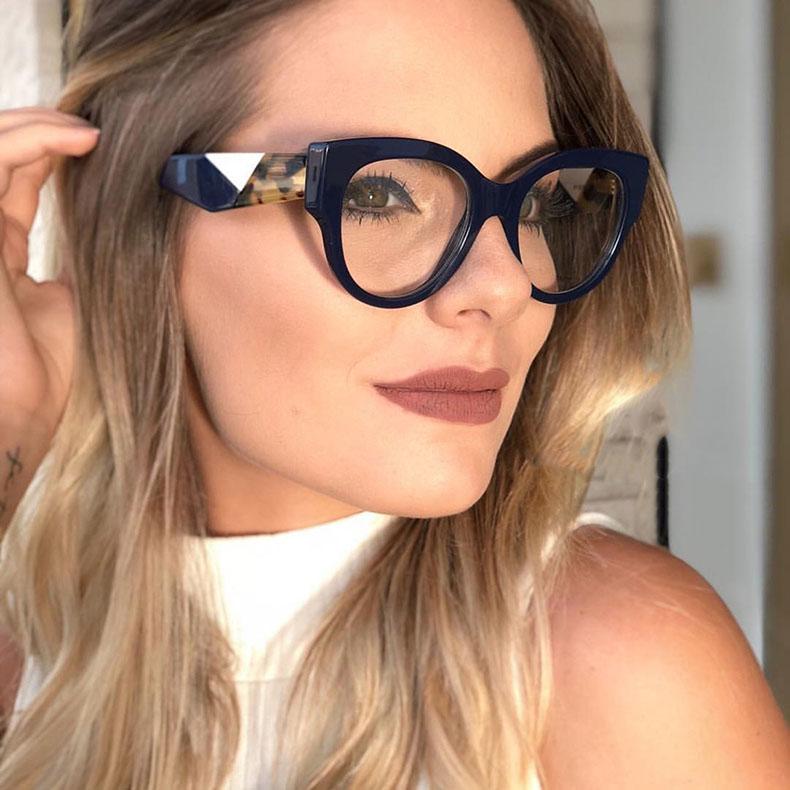 2020 модный стиль; Новинка; В стиле ретро; В оправы для очков, Женские оправы для очков, очки, горячая Распродажа оправы для очков
