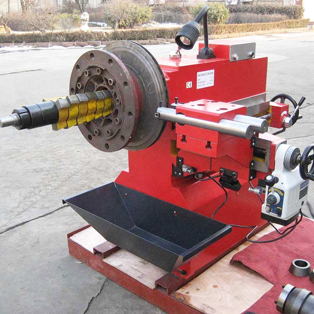 T8470 Car Brake Drum Disc Repair Cutting Lathe Machine ...