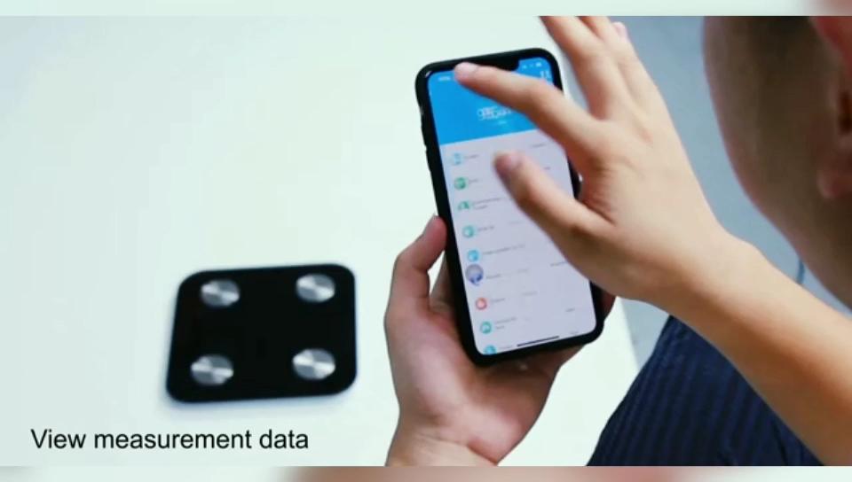 2019 Baru Tiba OEM ODM Keseimbangan Berat Tahan Air Tuya Wifi Tubuh Lemak Skala Berat