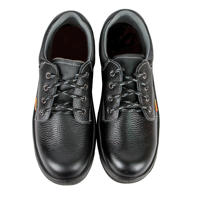 Labor Insurance Leather Rubber Anti-Smashing Anti-Piercing Non-Slip Work 10kv Industrial Safety Shoes