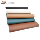 Custom pvc material artificial leather fabric