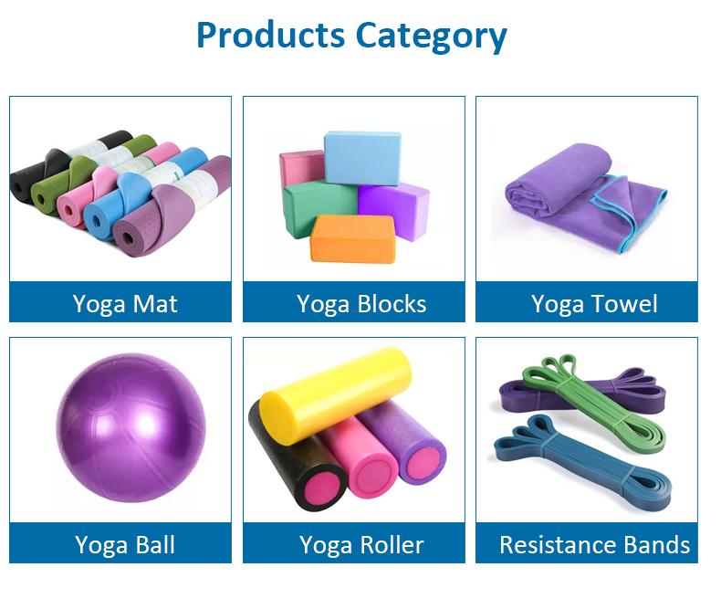 Benutzer definierte Logo Form lila Übung umwelt freundliche Natur kautschuk rutsch feste Pu Yoga matte