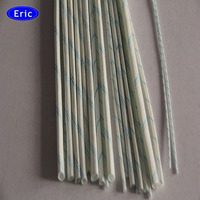 Electrical insulation type Flexible braided pvc resin fiber glass sleeving