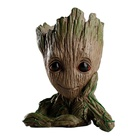 Factory Price Hot Selling Cute Polyresin Resin Treeman Baby Groot Flower Pot