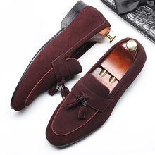 Мужские деловые туфли из натуральной кожи, парадные Туфли-оксфорды для мужчин, свадебная деловая офисная обувь, слипоны для мужчин 2020(China)