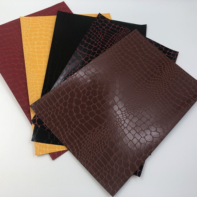 China High Quality Faux Leather Paper