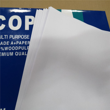 Factory Supply A4 copy paper 80gsm in sheets also can in jumbo roll