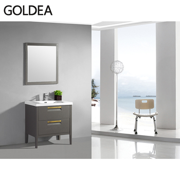 Goldea 32 Inch Bathroom Vanity Standing American Style ...