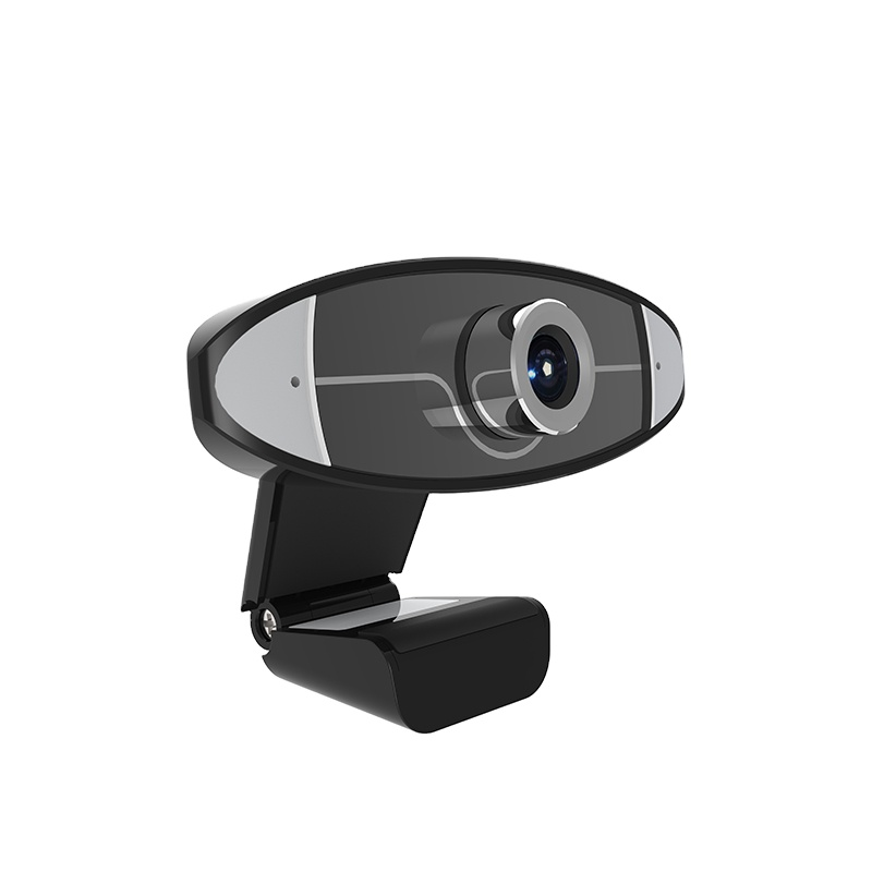 High Definition OEM Video Chat Mini Webcam Stock Web Camera With Mic