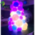 Hongyi Inflatable Led Balloon Custom Inflatable Balloon Tower With Changing Colors For Decoration