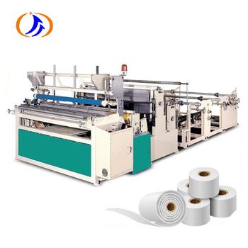 CE WSZ High Speed Automatic Toilet Paper  Roll Rewinding Machine