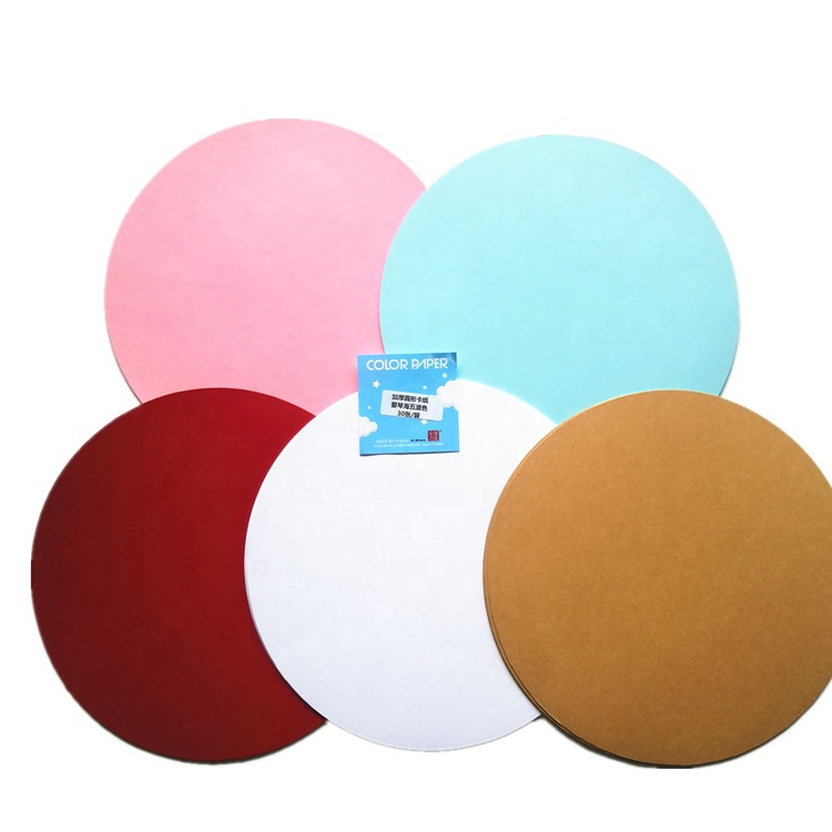Wholesales Supply Circle Round Acid Free Art Paper Water Color Paper Painting Paper