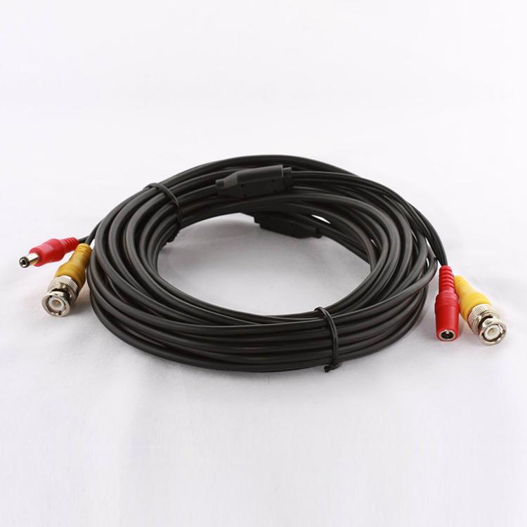 BNC Video Power Siamese Cable For CCTV Surveillance Camera