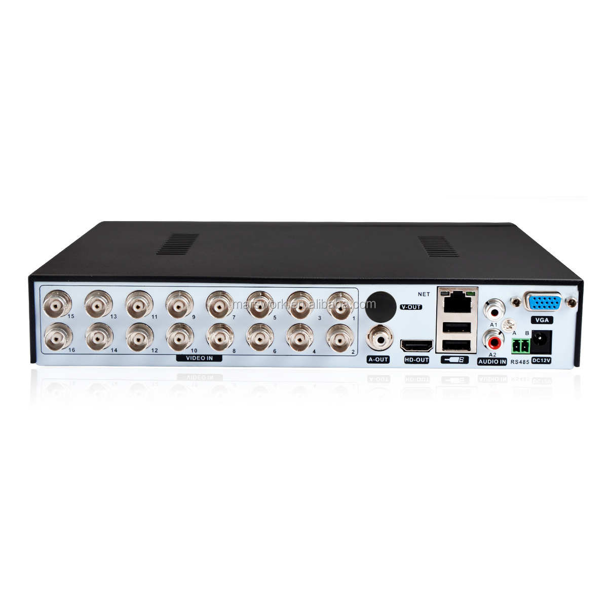 16 Channels <strong>DVR</strong> 1080n cctv 5 in 1 <strong>DVR</strong> H.265 Digital Video Recording Motion Detection