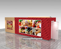High quality commercial indoor mall used food kiosk for sale