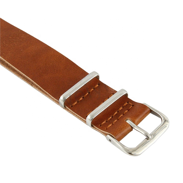 Smooth Leather Watch Band For Men Buy Direct Factory